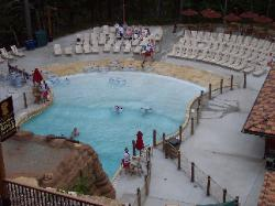 Outdoor wave pool