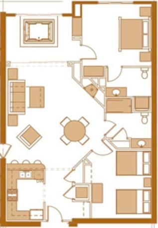 bedroom condo floor plans on one bedroom condo floor plans bedroom